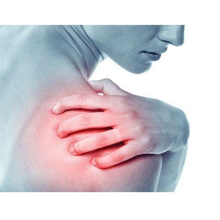 shoulder pain near the upper back