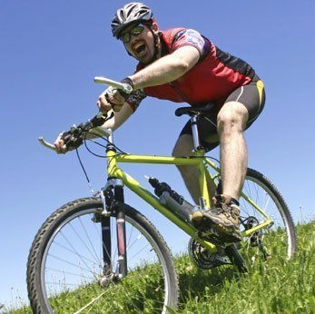 extreme cycling causes knee pain