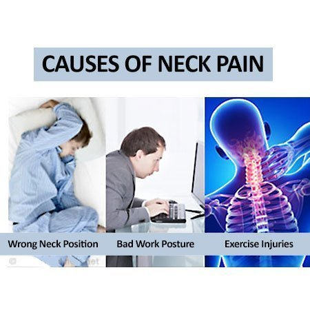 Poor postures that cause neck pain