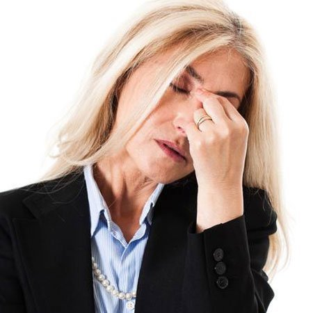 Migraine, sinus pressure and vertigo